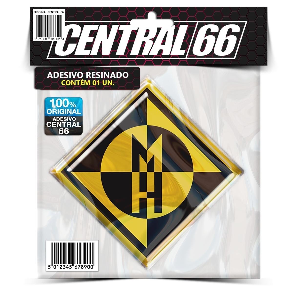 Adesivo Machine Head – Central 66