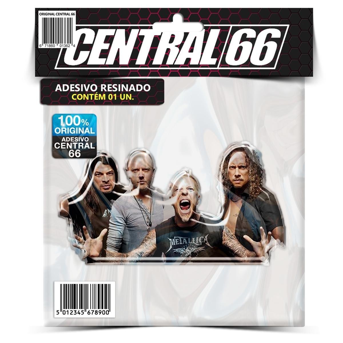 Adesivo Metallica 02 – Central 66