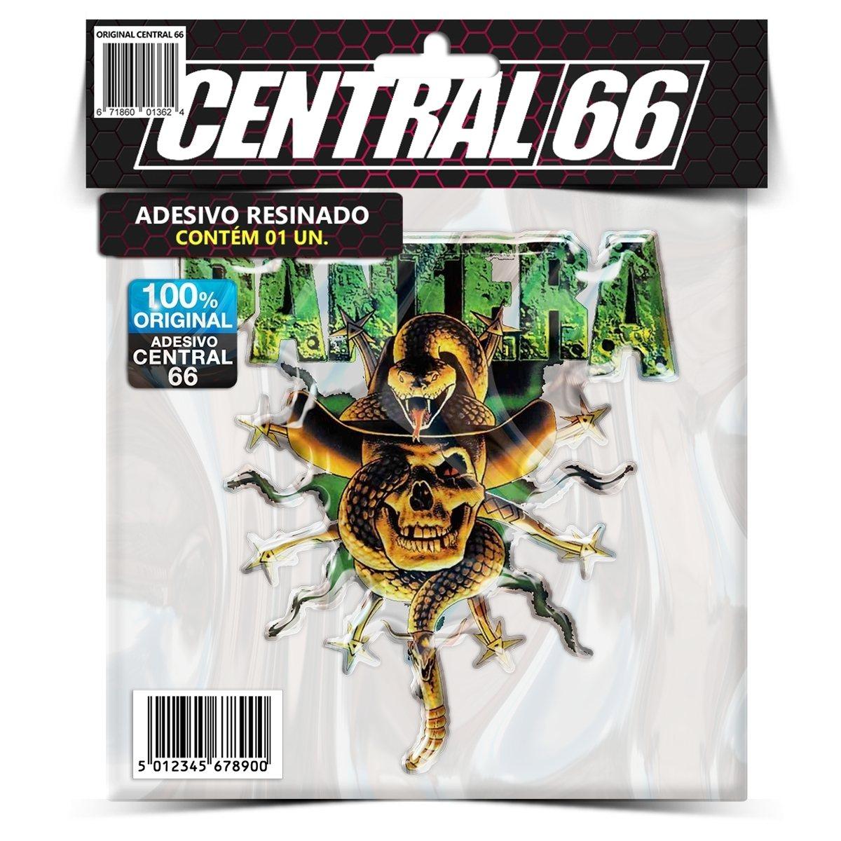 Adesivo Pantera Cowboy – Central 66