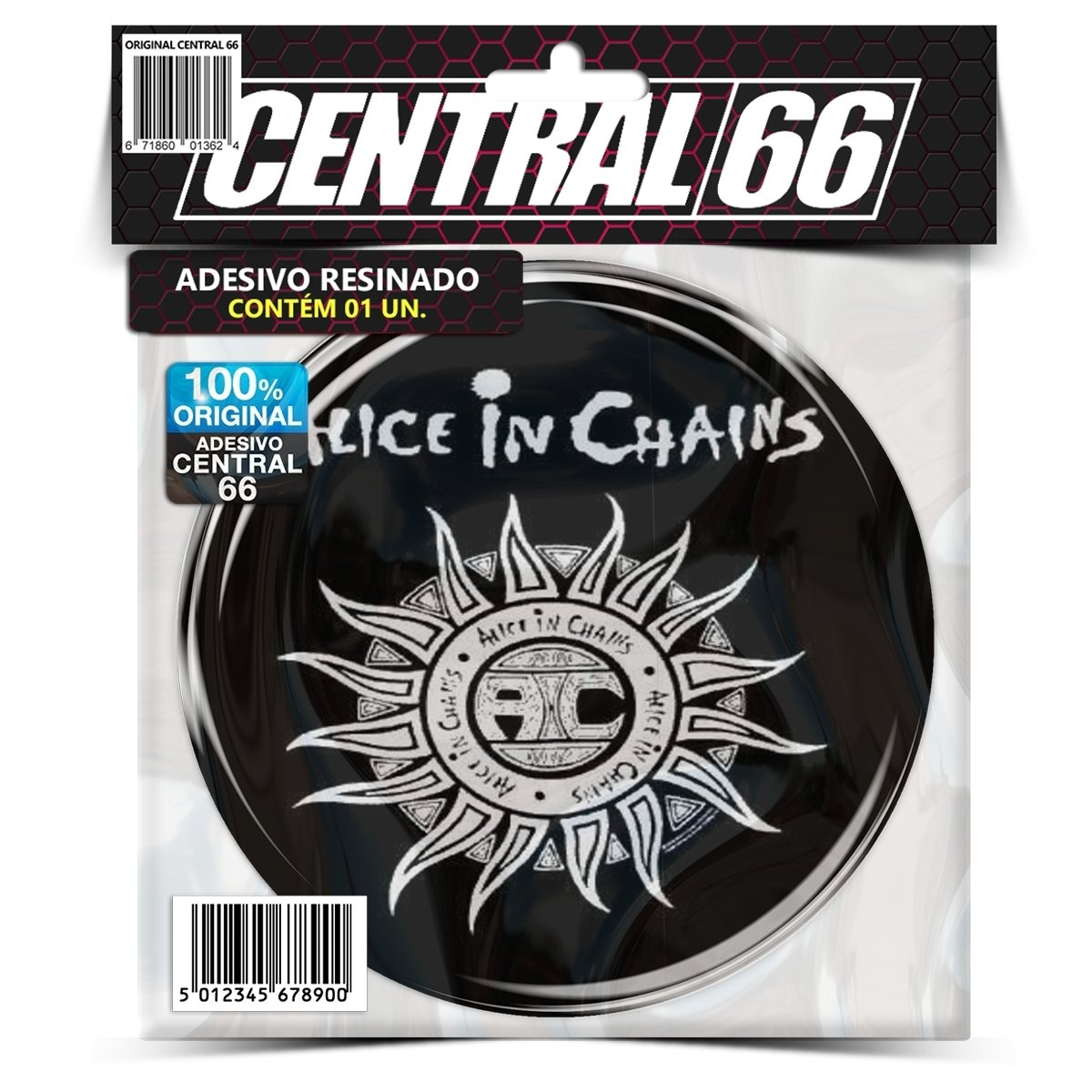 Adesivo Redondo Alice in Chains Sol – Central 66