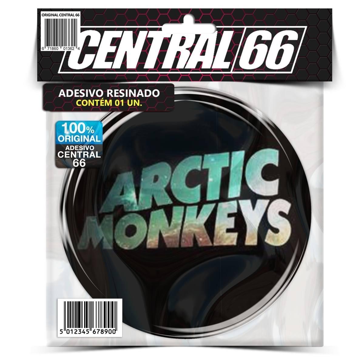 Adesivo Redondo Arctic Monkeys – Central 66