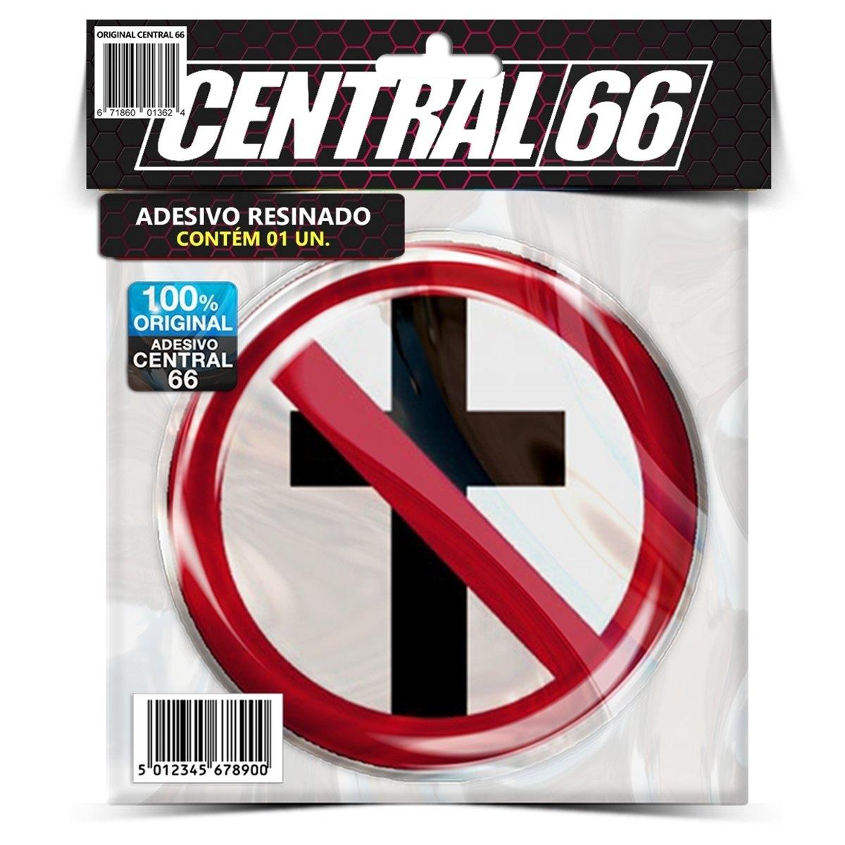 Adesivo Redondo Bad Religion Emblema Anti Cristianismo – Central 66