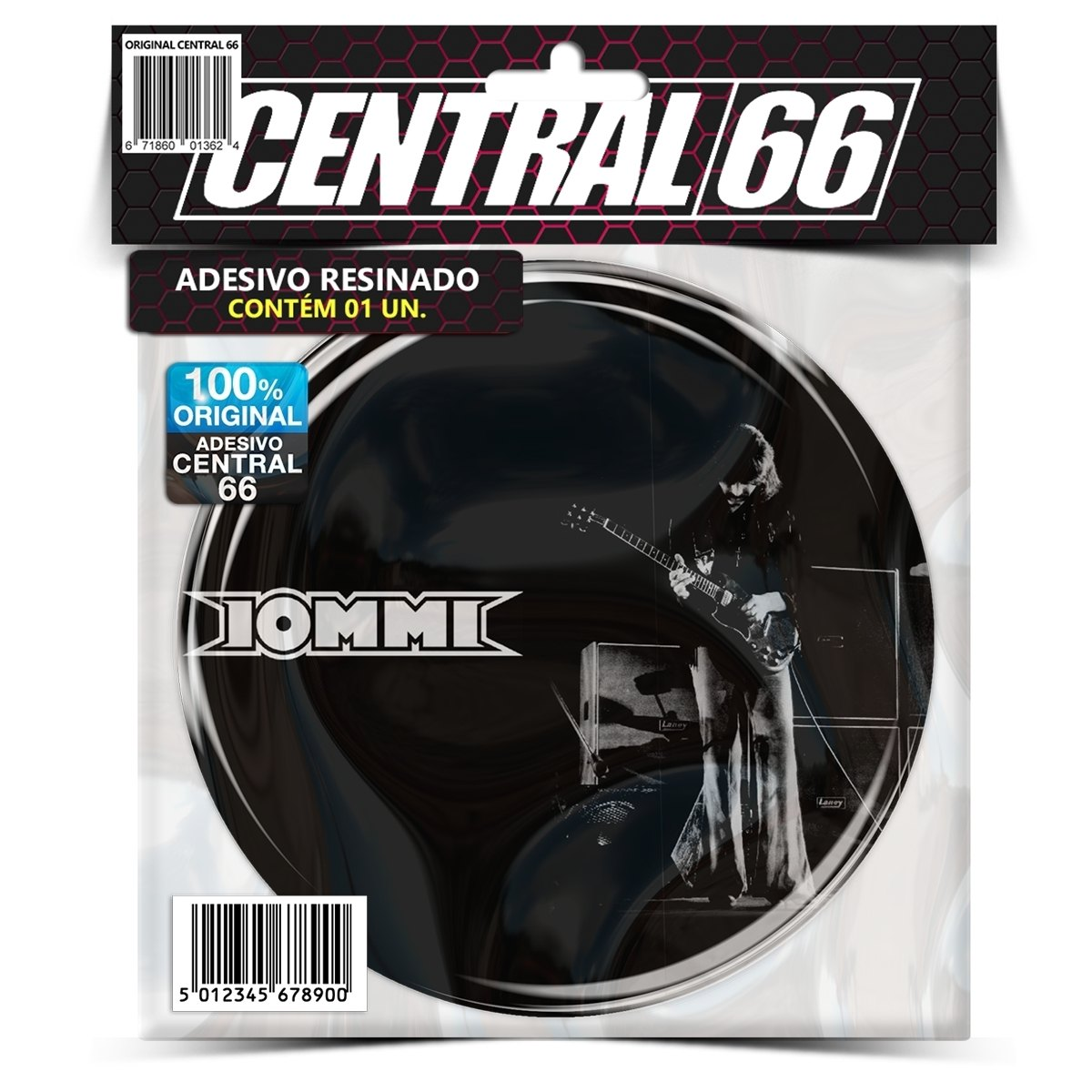 Adesivo Redondo Black Sababth Iommy – Central 66