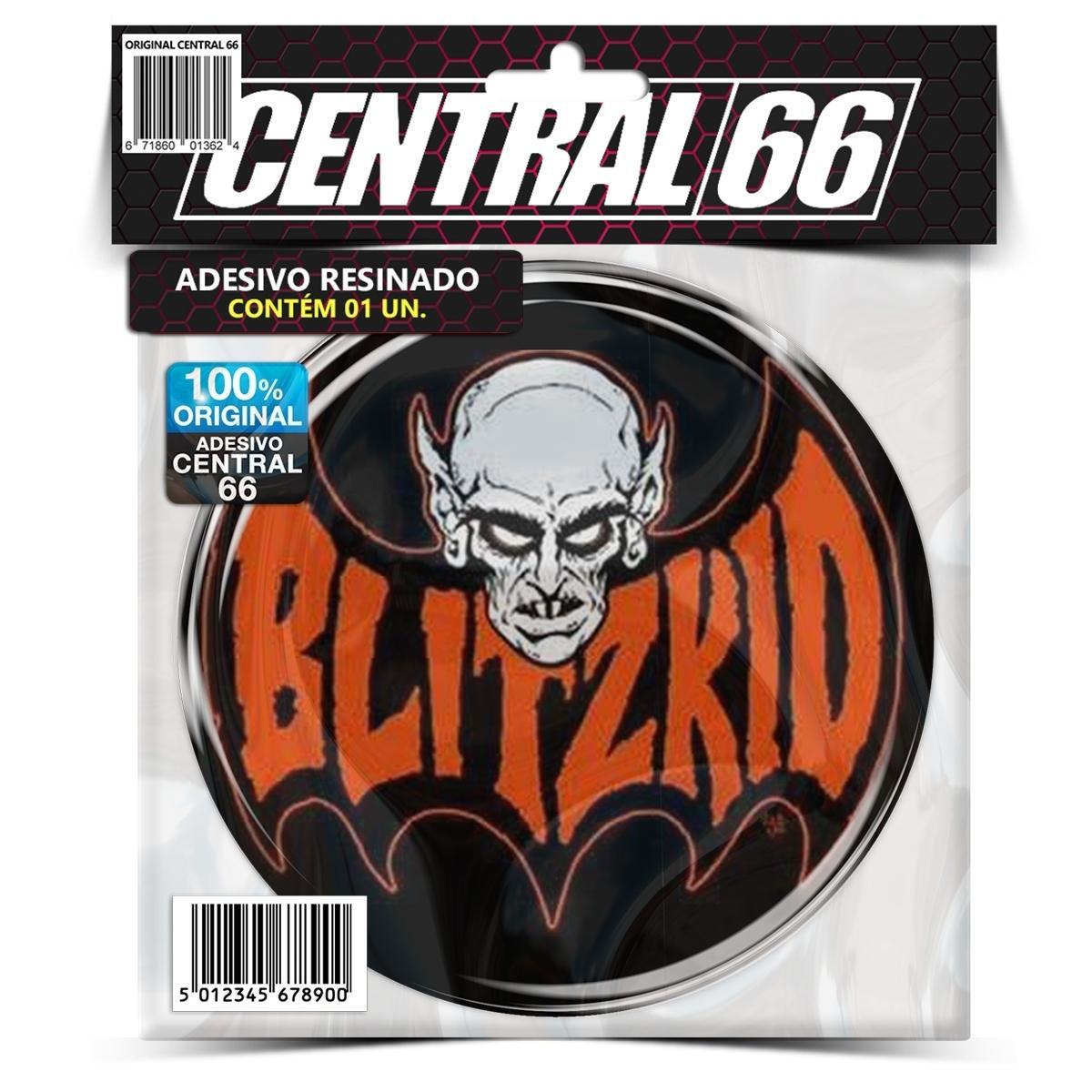 Adesivo Redondo Blitzkid Logo – Central 66