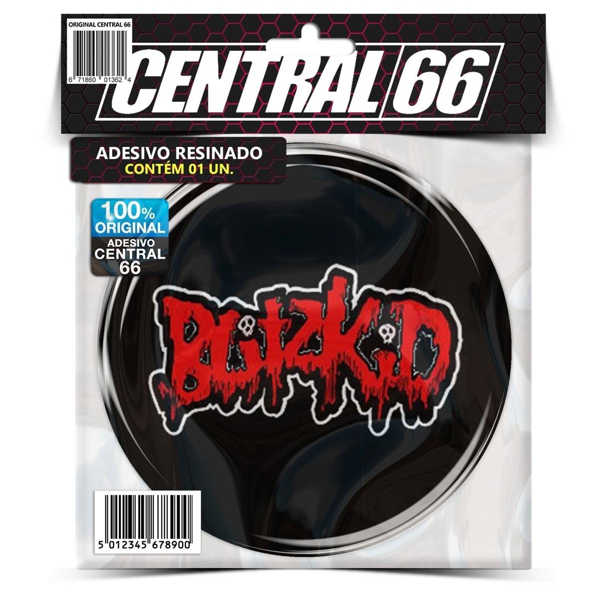 Adesivo Redondo Blitzkid Logo M02 – Central 66