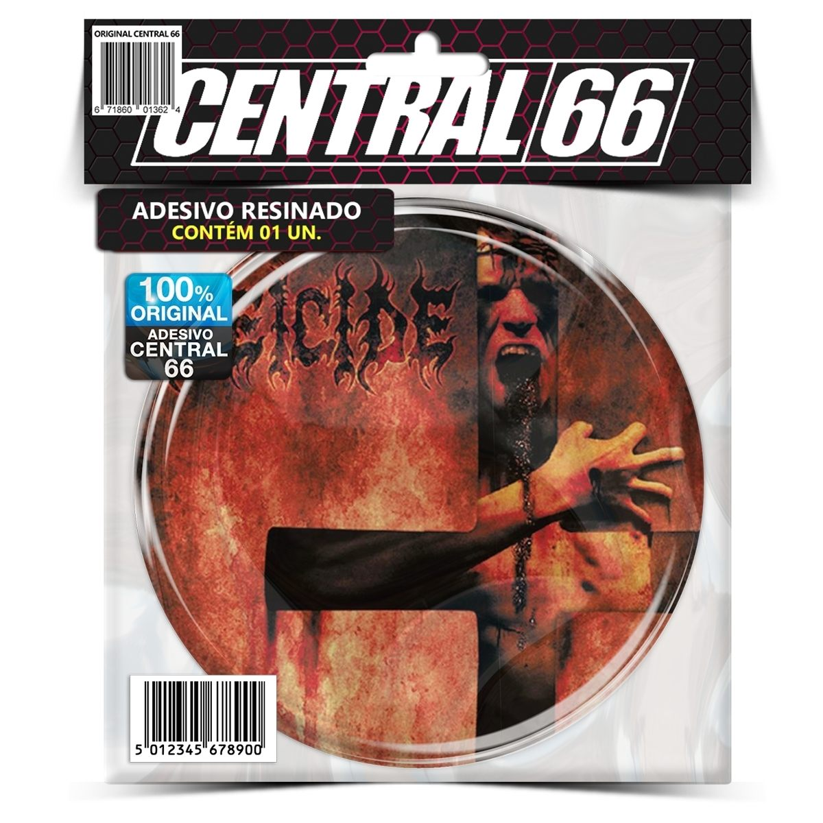 Adesivo Redondo Deicide The Stench Of Redemption – Central 66