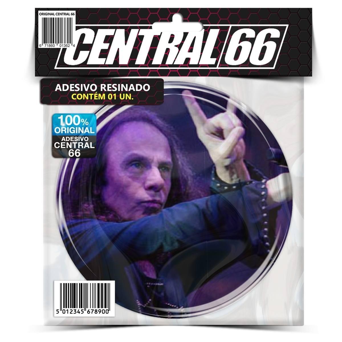 Adesivo Redondo Dio – Central 66