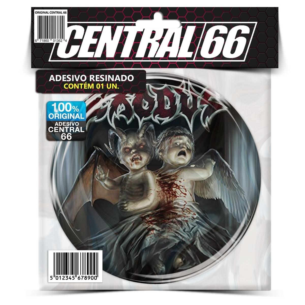 Adesivo Redondo Exodus Let there be blood – Central 66