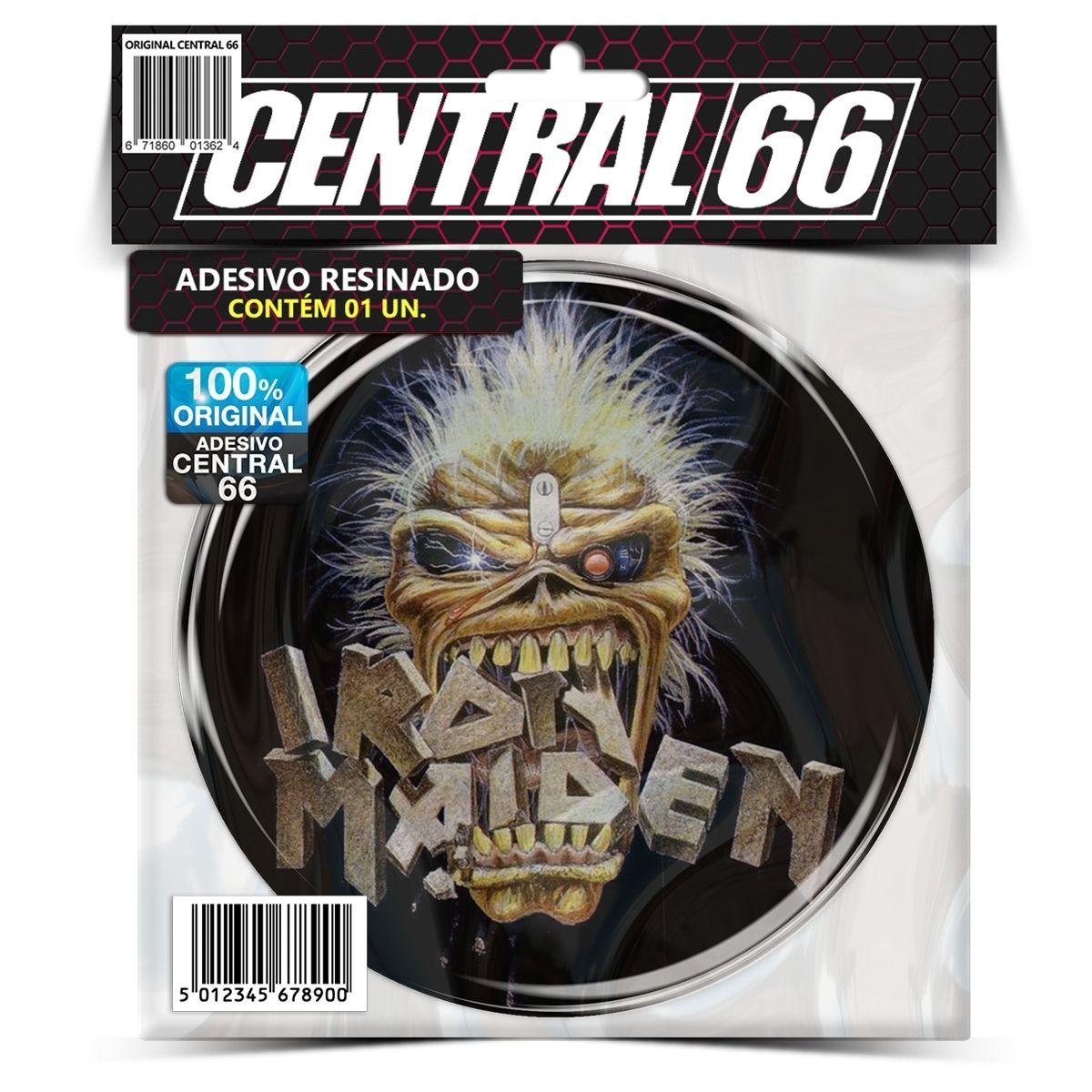 Adesivo Redondo Iron Maiden Eddie M02 – Central 66