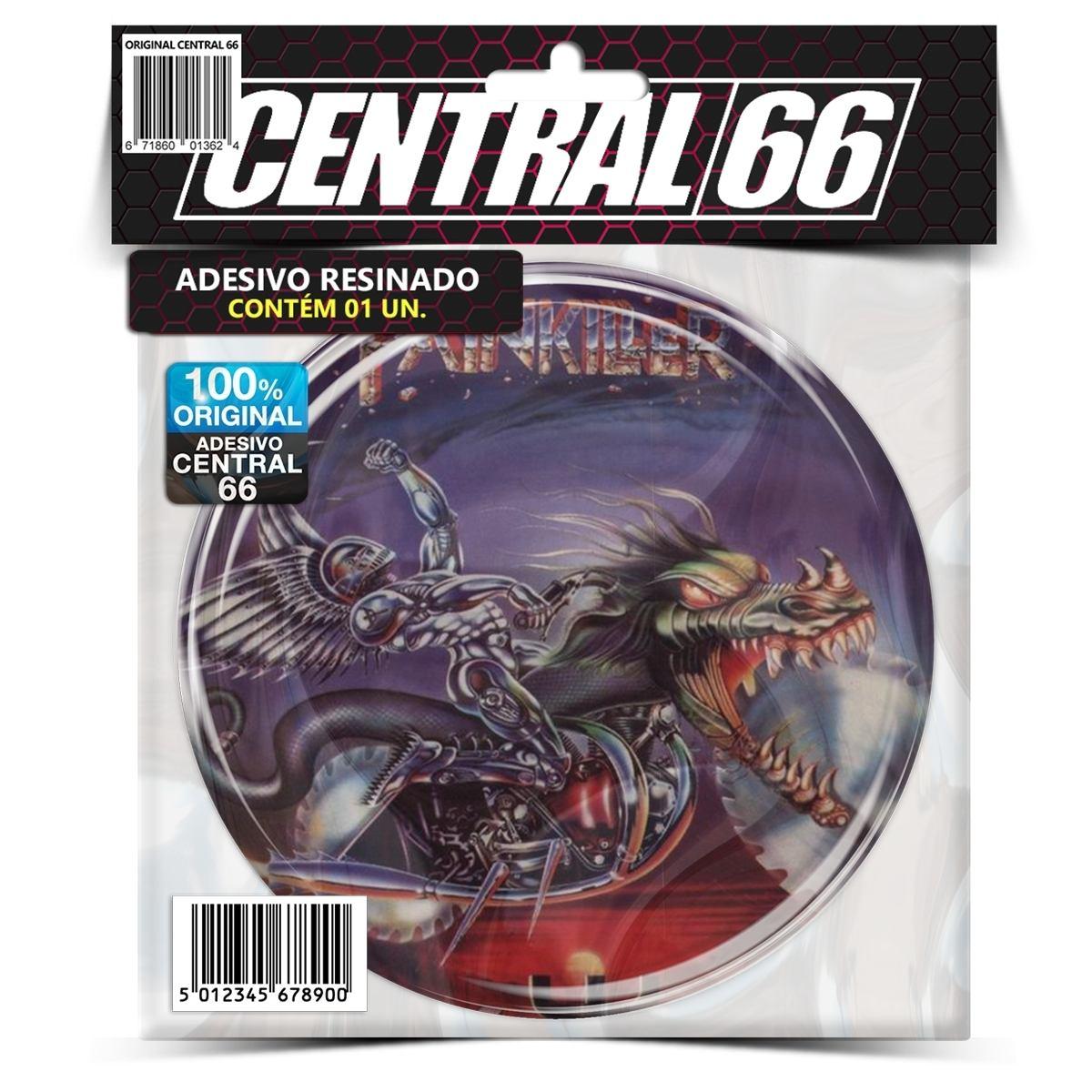 Adesivo Redondo Judas Priest Painkiller – Central 66
