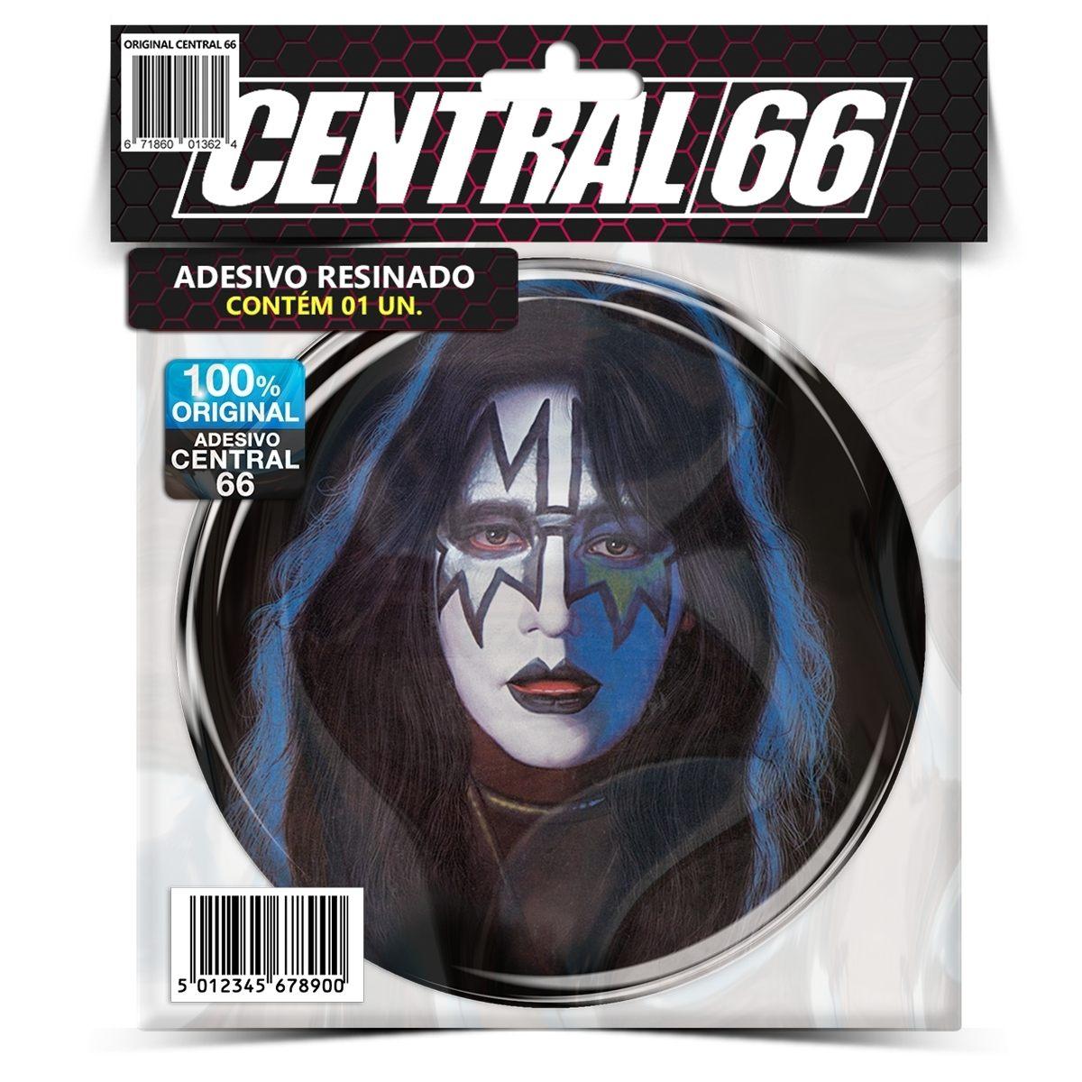 Adesivo Redondo Kiss Ace Frehley – Central 66