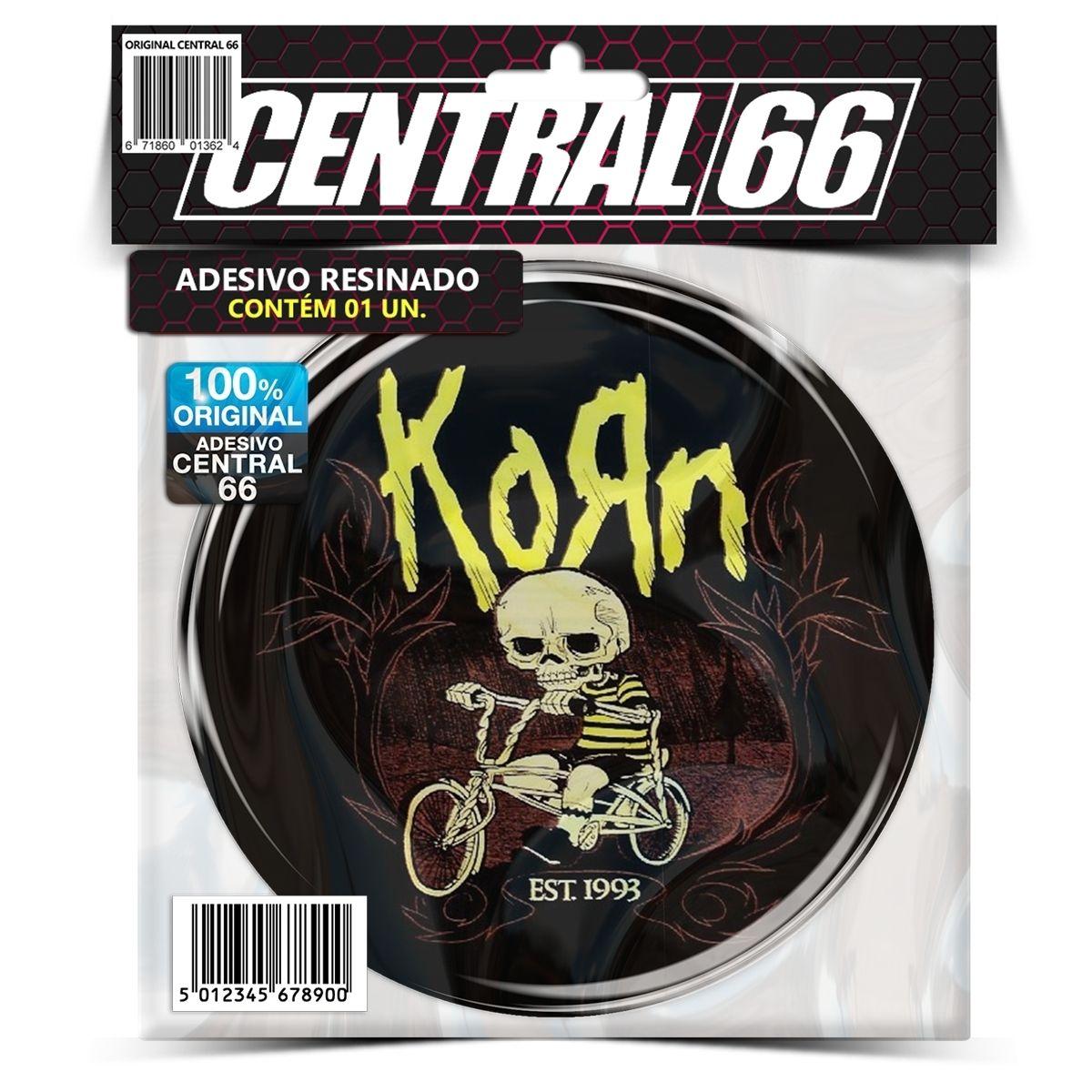 Adesivo Redondo Korn – Central 66