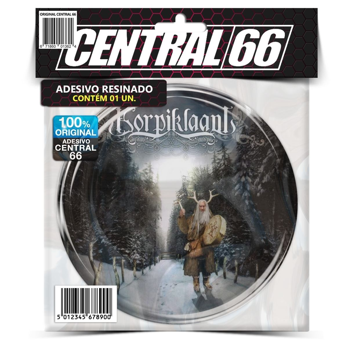 Adesivo Redondo Korpiklaani Tales Along This Road – Central 66