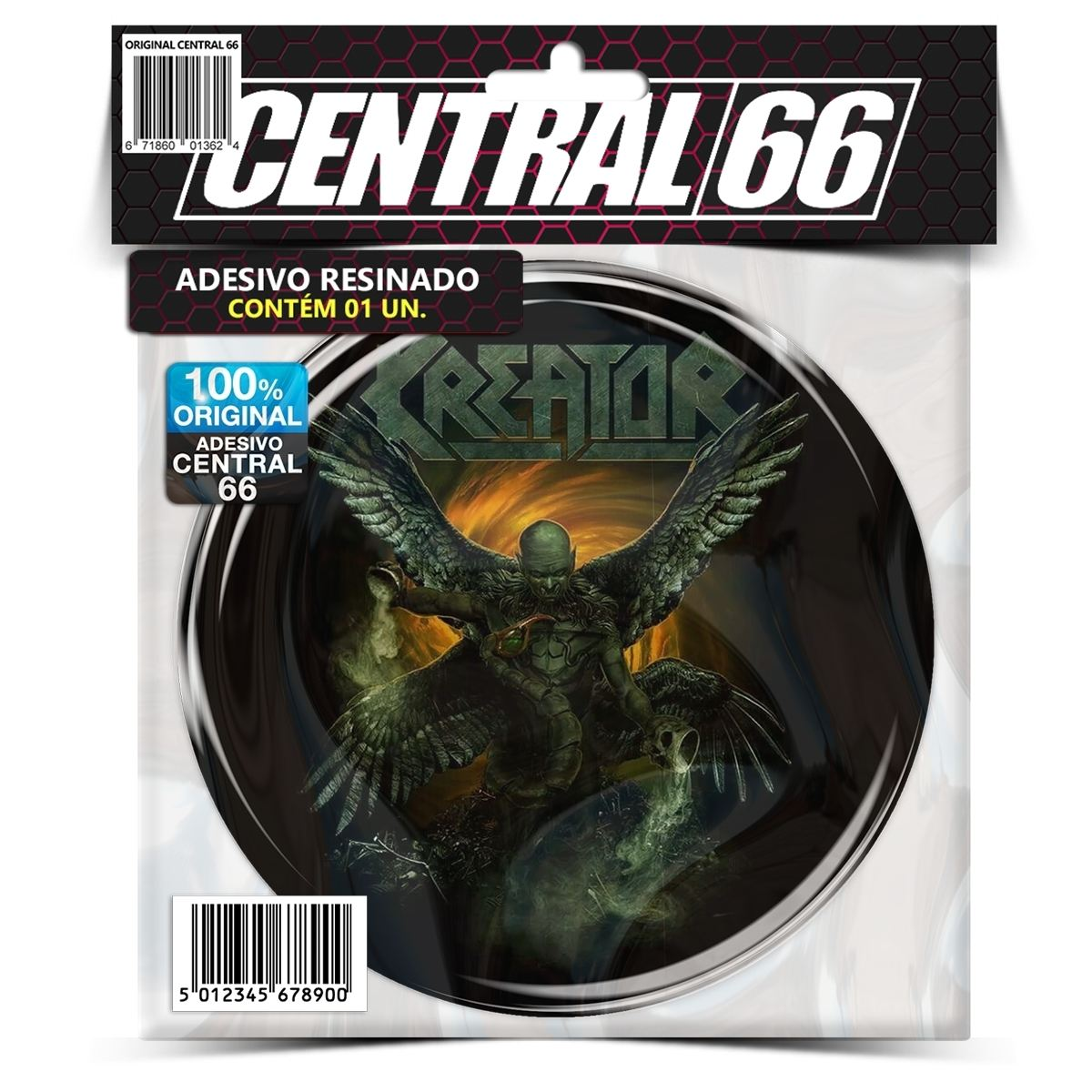 Adesivo Redondo Kreator M02 – Central 66
