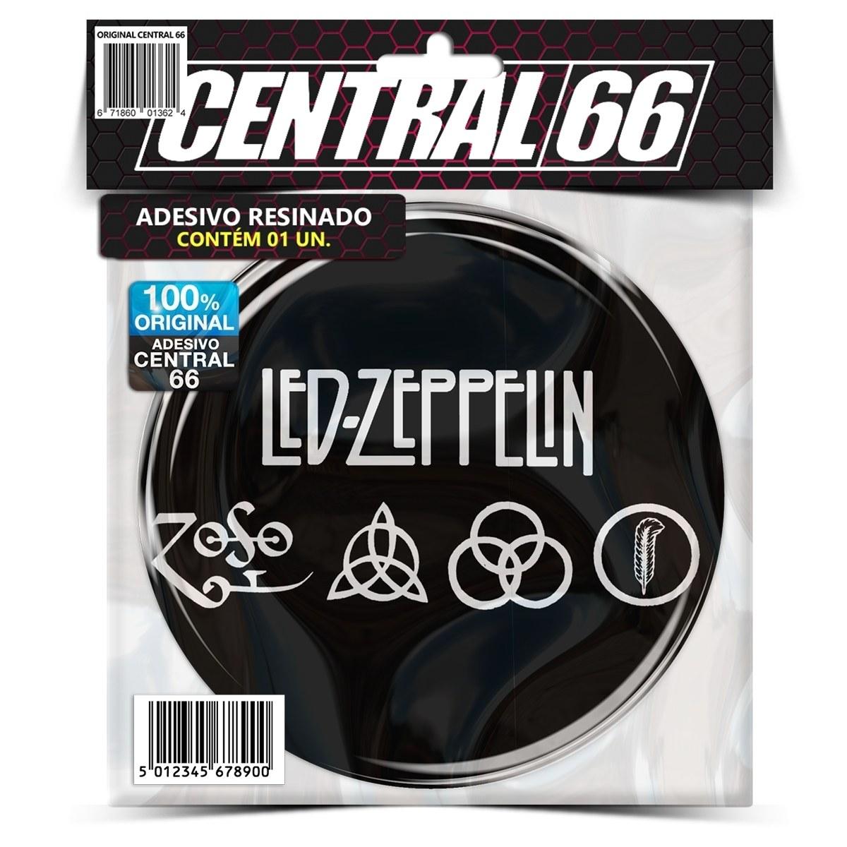 Adesivo Redondo Led Zeppelin – Central 66