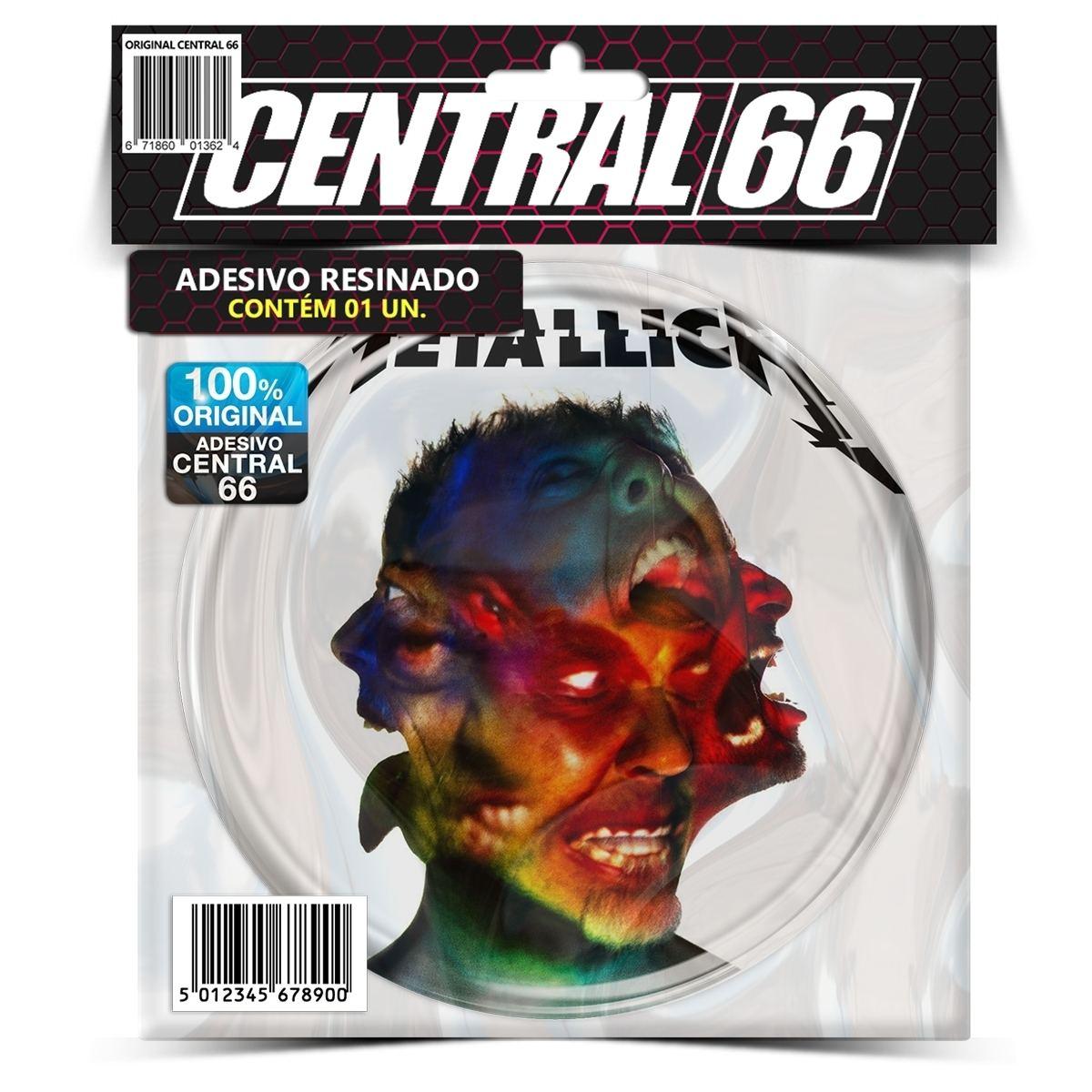 Adesivo Redondo Metallica Hardwiredto Self Destruct – Central 66