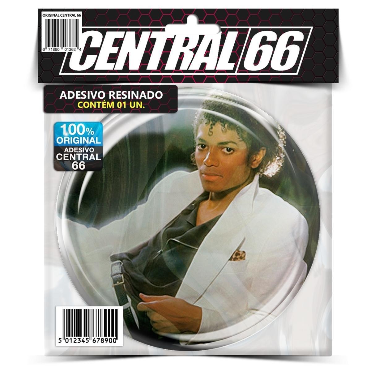 Adesivo Redondo Michael Jackson Thriller – Central 66