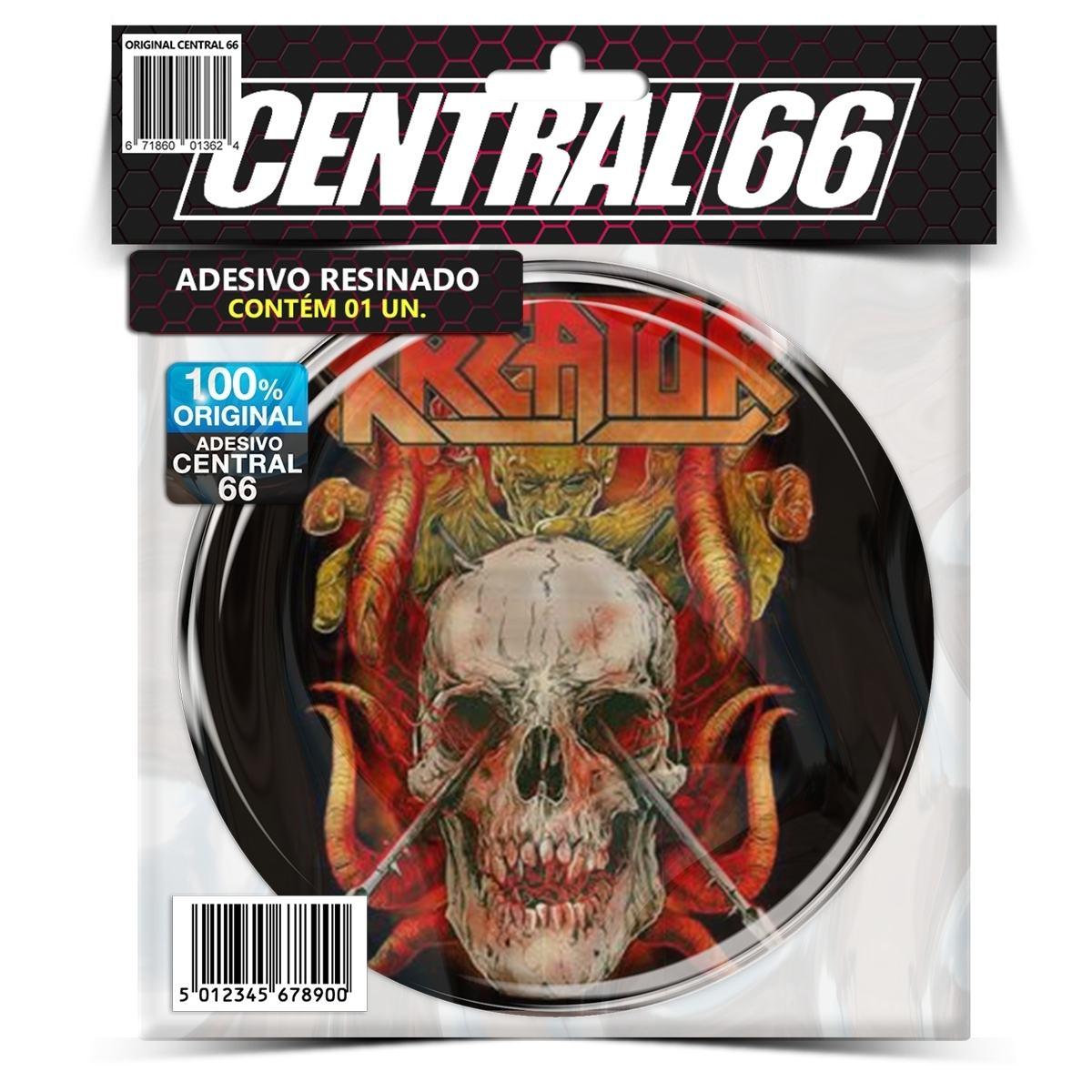 Adesivo Redondo Rammstein Psicodelic  – Central 66