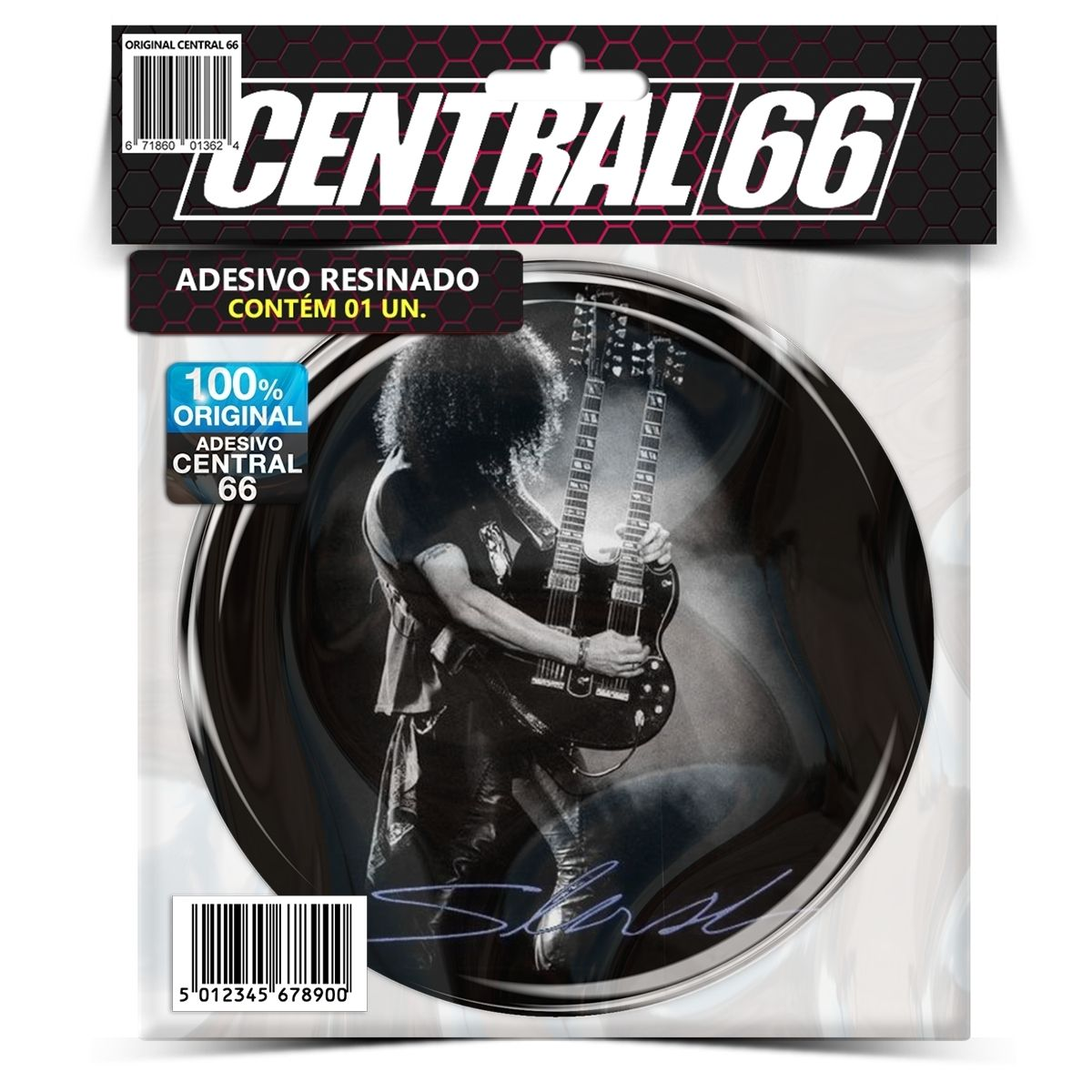 Adesivo Redondo Slash – Central 66
