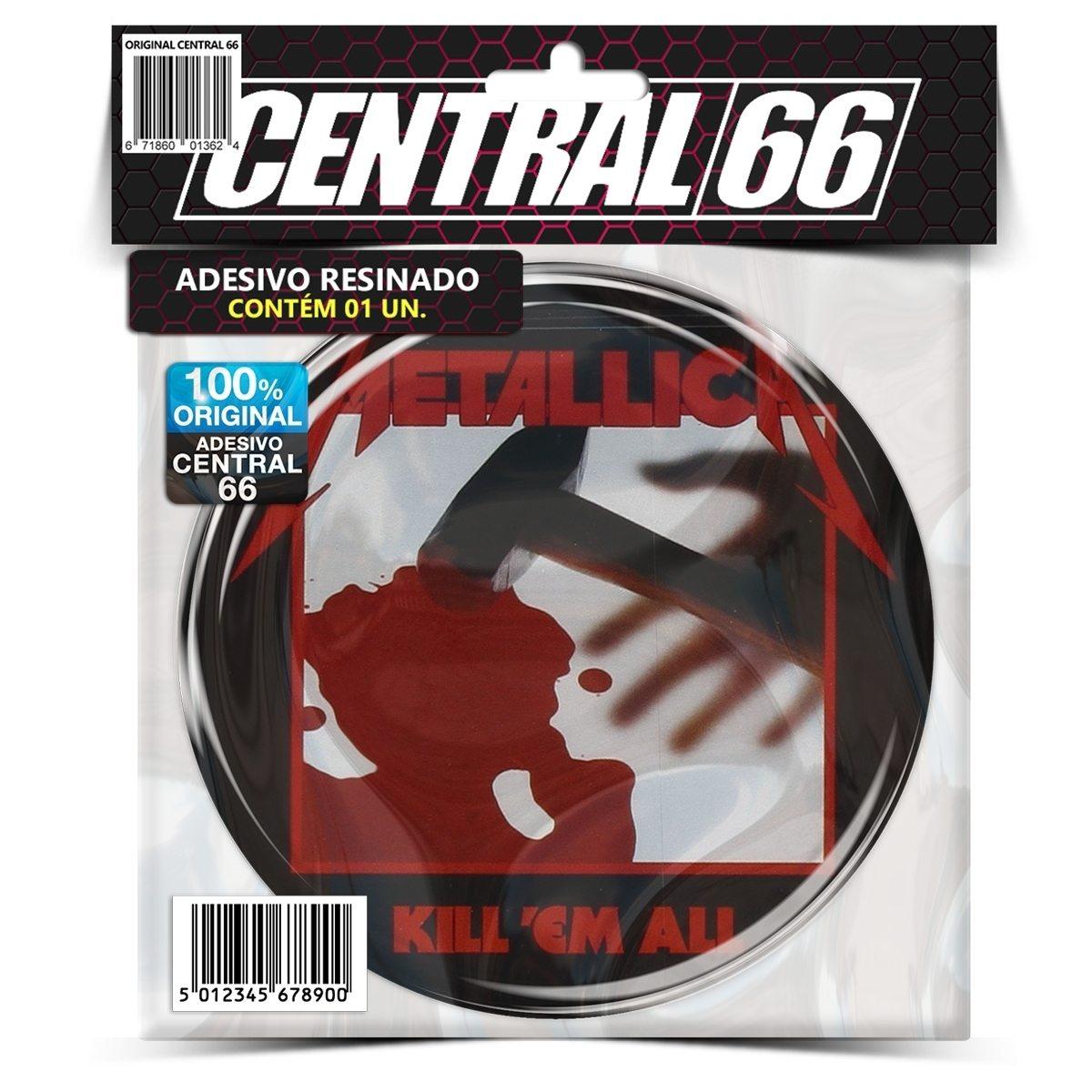 Adesivo Redondo Slayer M05 – Central 66