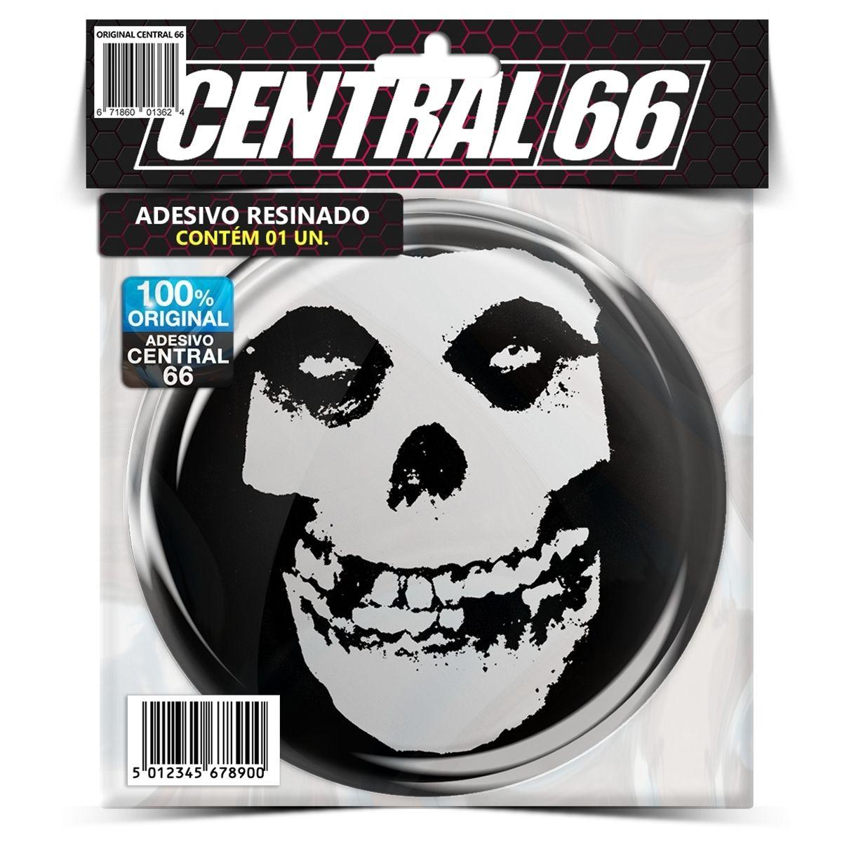 Adesivo Redondo Slipknot – Central 66