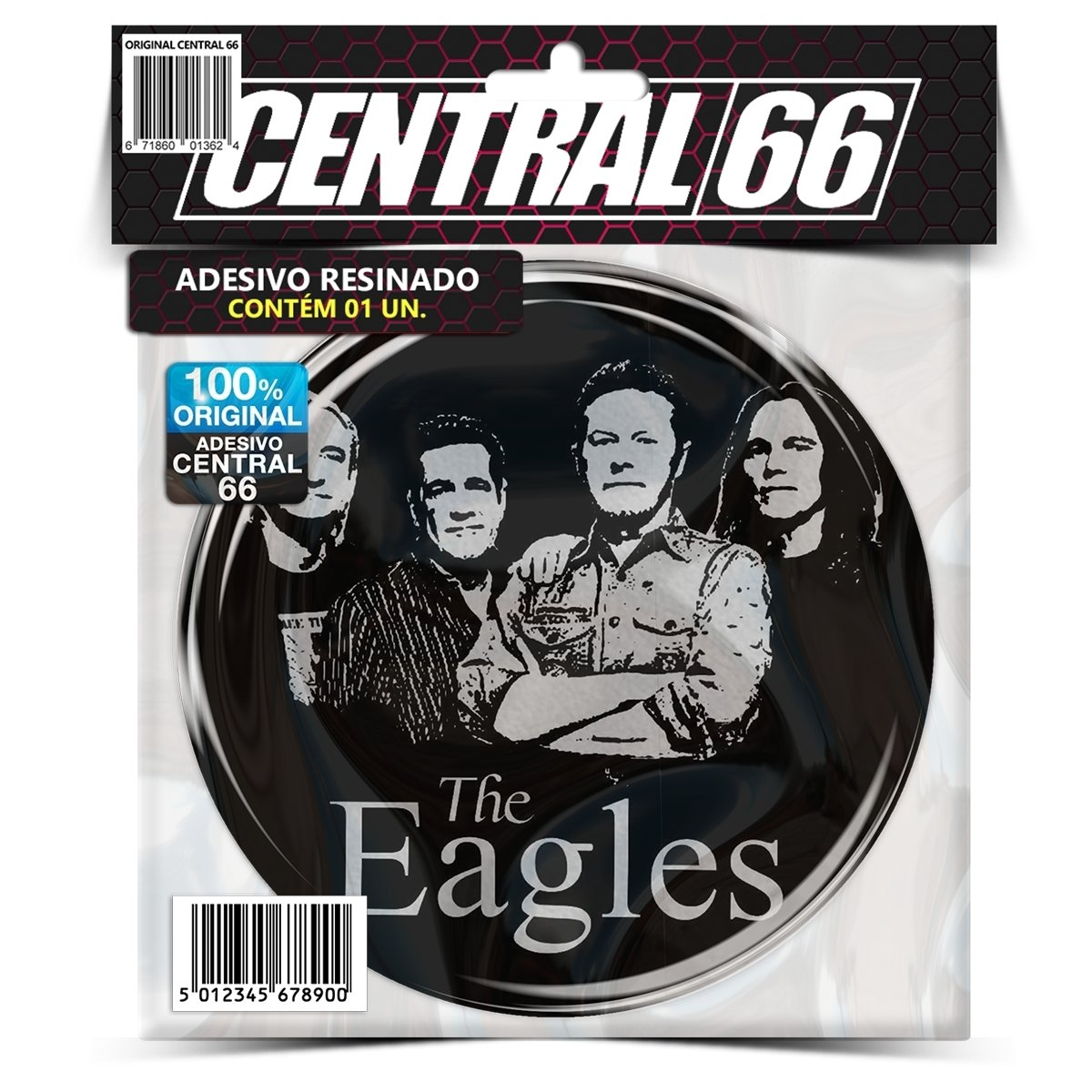 Adesivo Redondo The Eagles – Central 66