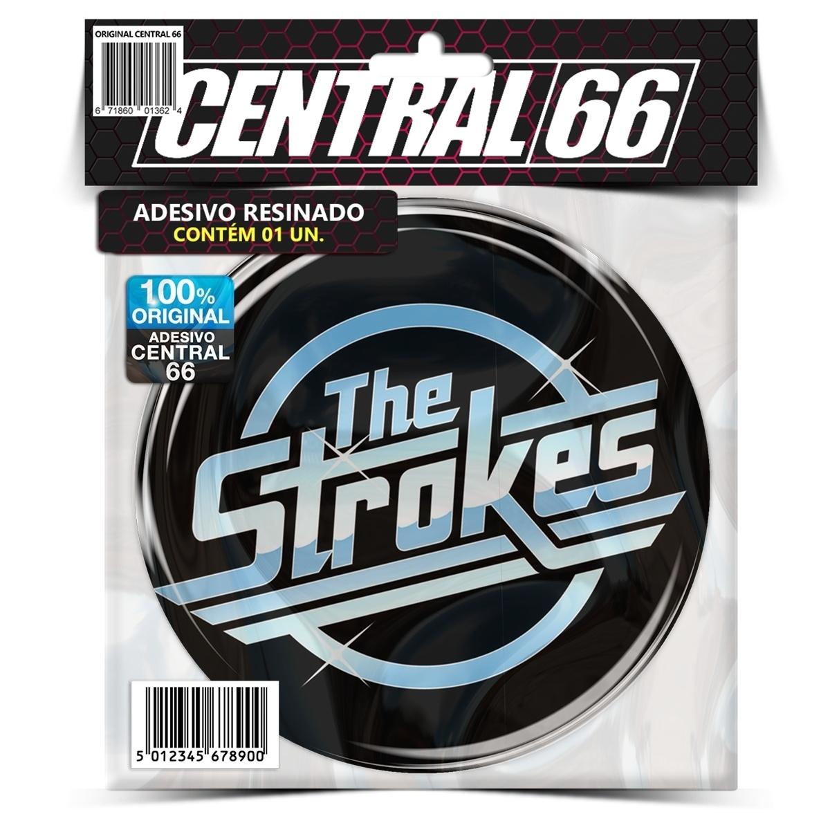 Adesivo Redondo The Strokes Logo – Central 66
