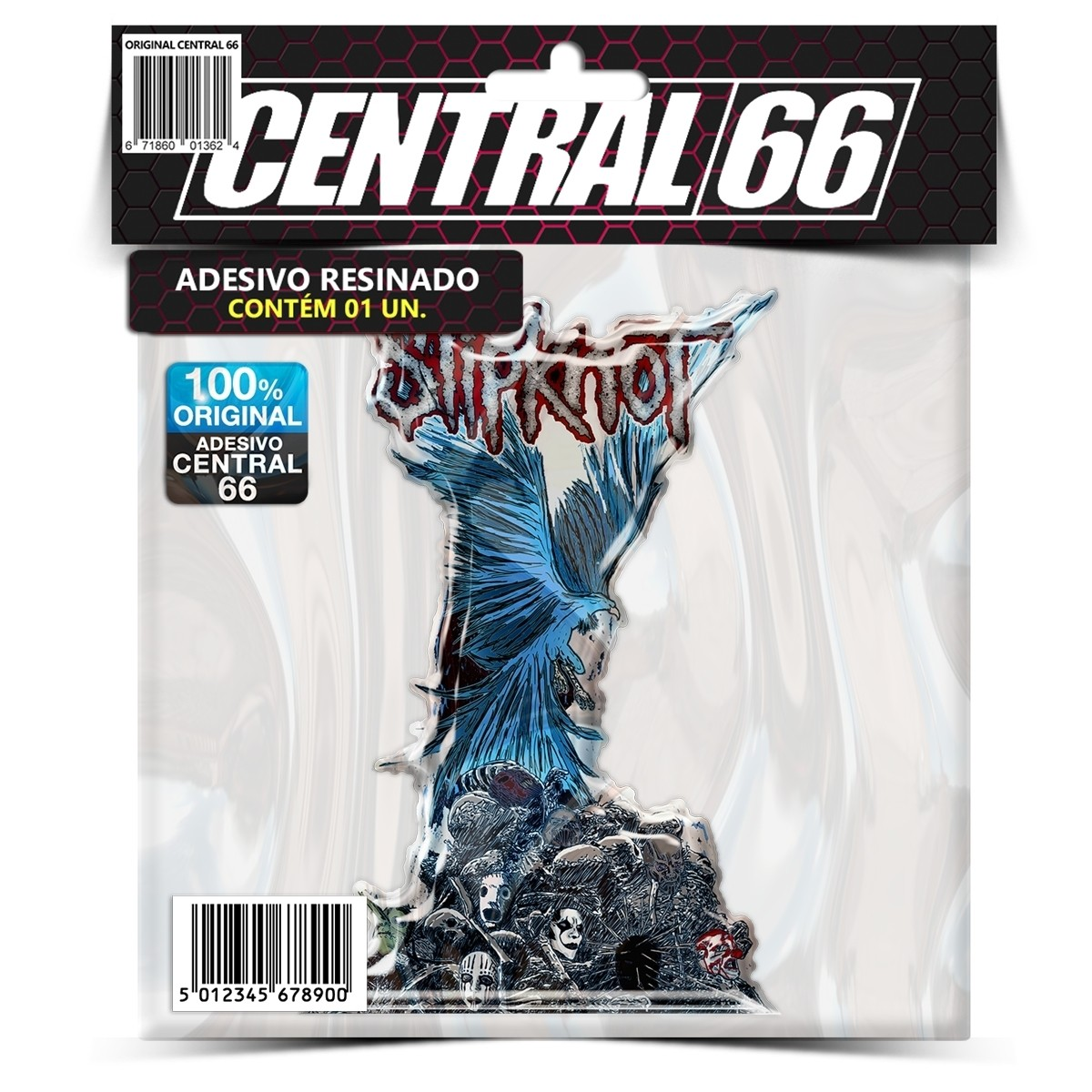 Adesivo Slipknot M02 – Central 66
