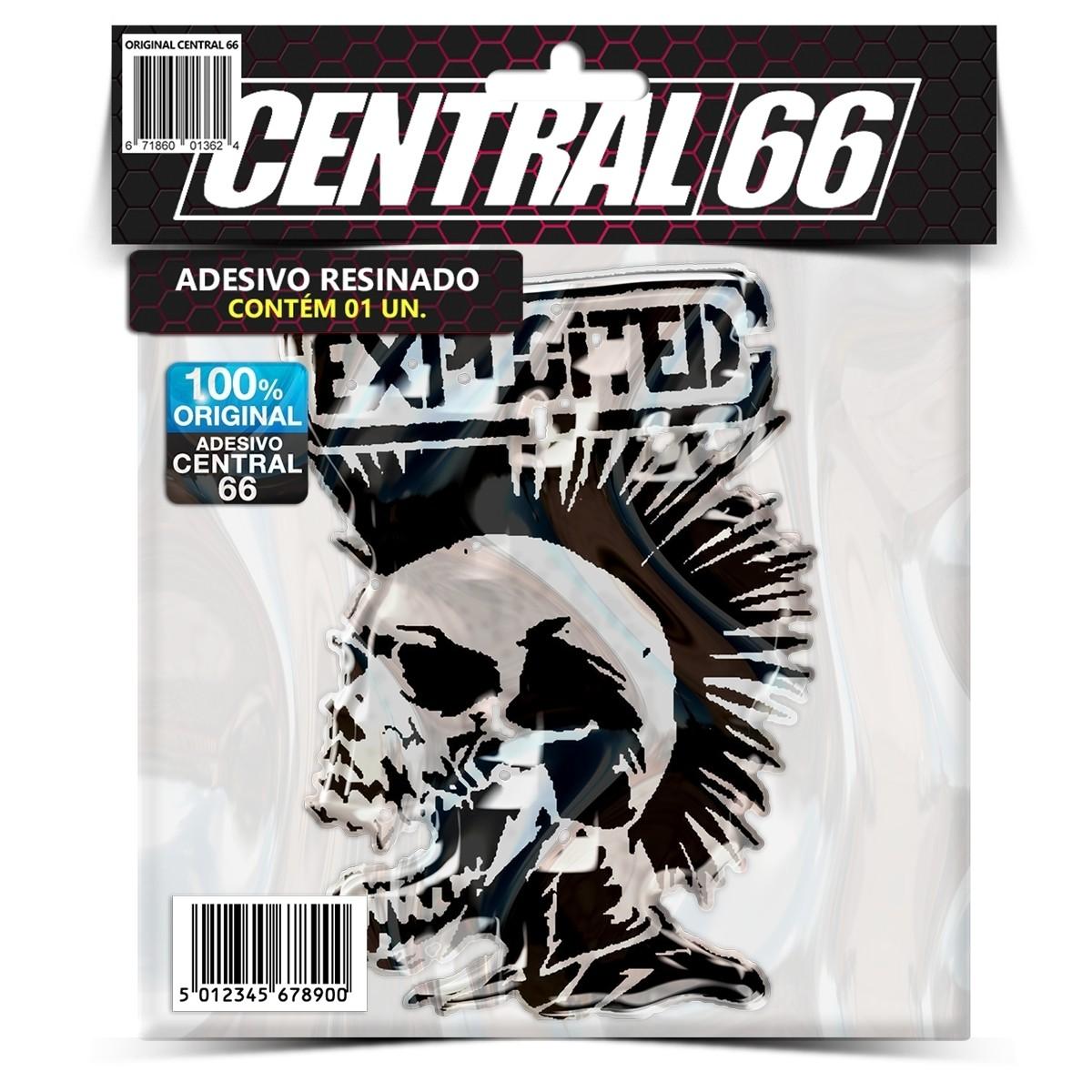 Adesivo The Exploited – Central 66