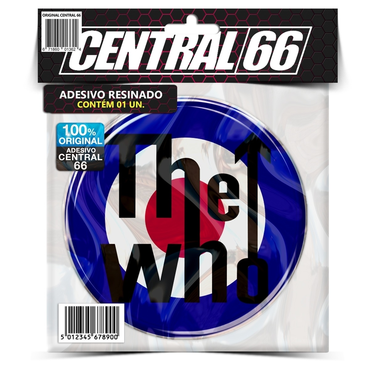 Adesivo The Who – Central 66