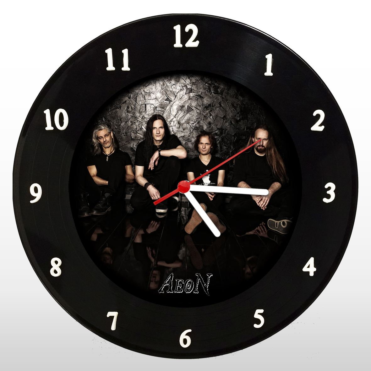 Aeon - Relógio de Parede em Disco de Vinil - Mr. Rock