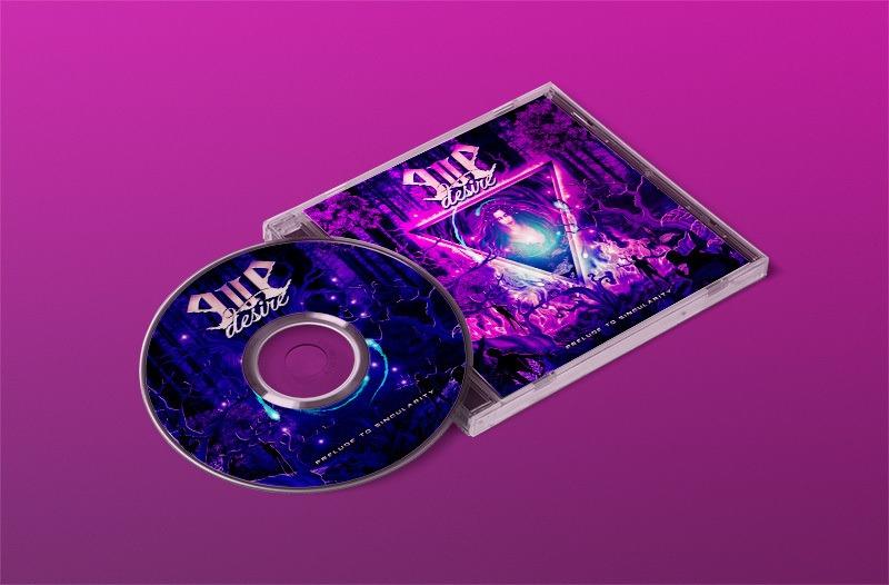 PRÉ VENDA - Álbum Banda EVE DESIRE - Prelude to Singularity