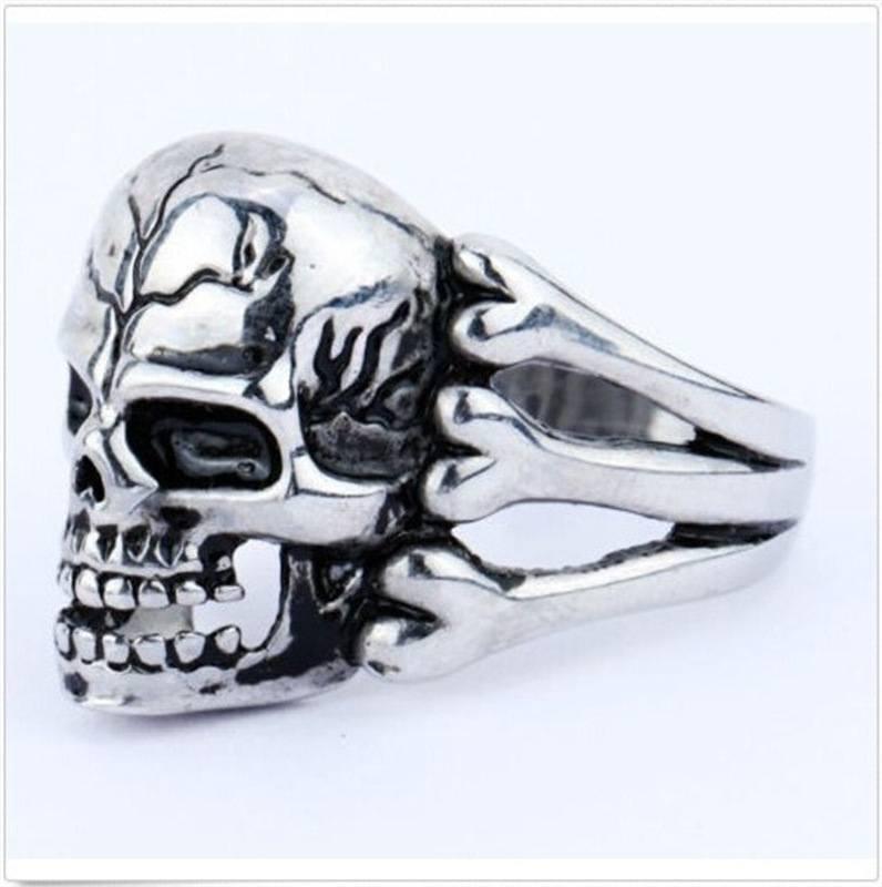 Anel Skull Ossos – SkullAchando