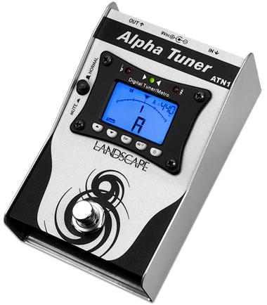 Pedal Afinador ATN1 Alpha Tuner Landscape