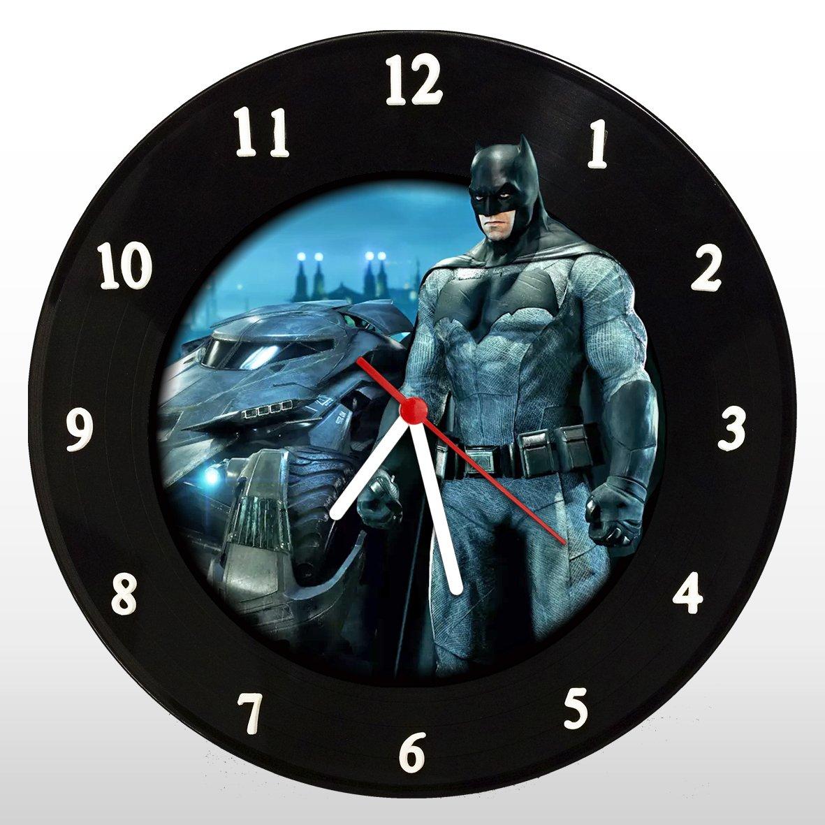 Batman - Relógio de Parede em Disco de Vinil - Mr. Rock