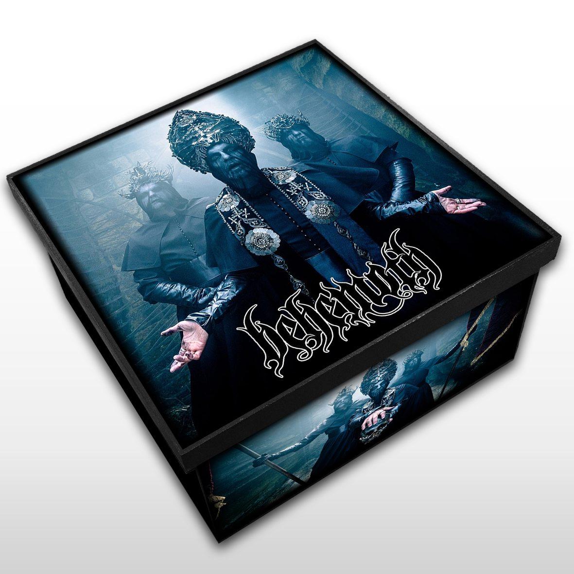 Behemoth - Caixa Organizadora em Madeira MDF - Tamanho Médio - Mr. Rock