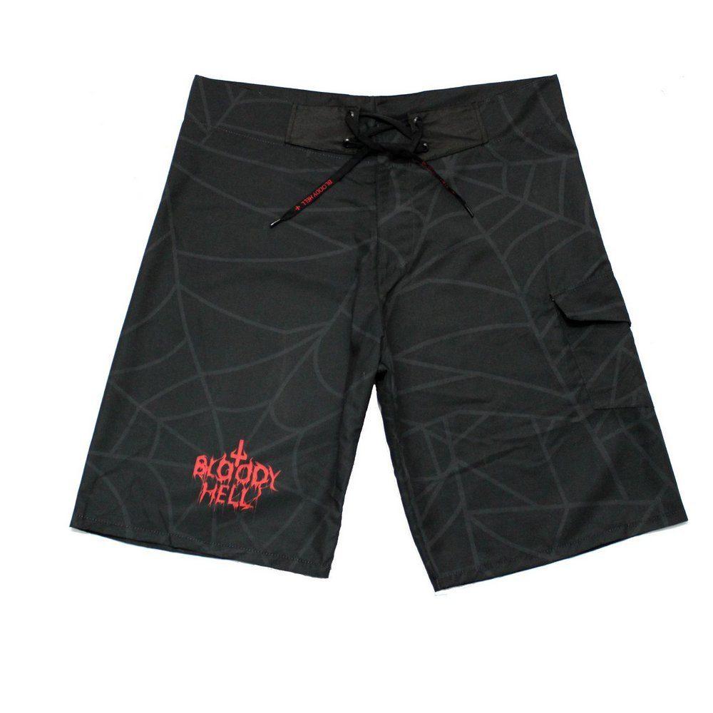 Bermuda Masculina Bloody Spider - Bloody Hell Wear