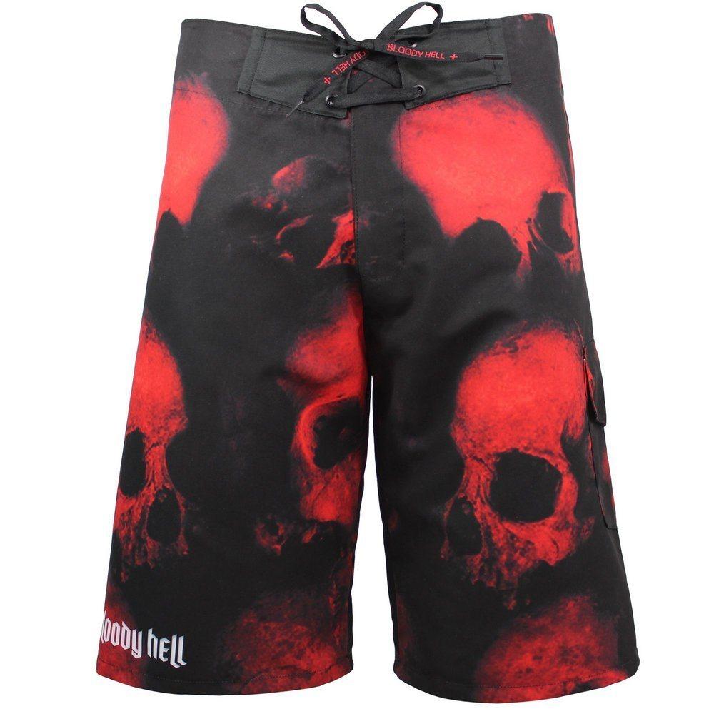 Bermuda Masculina Hell Skull - Bloody Hell Wear