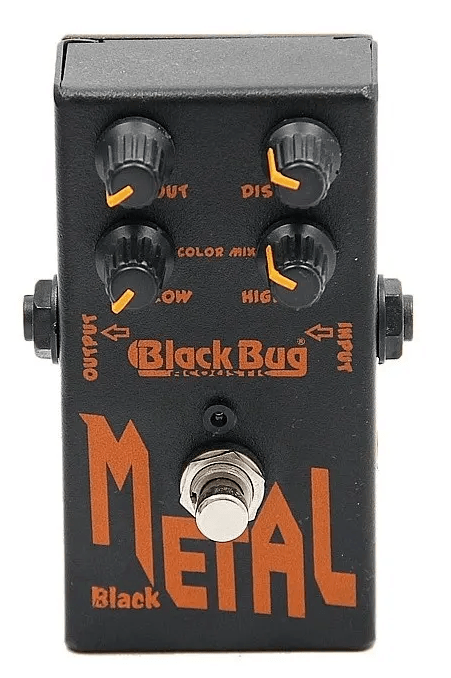 Pedal para Guitarra Black Bug Heavy Metal