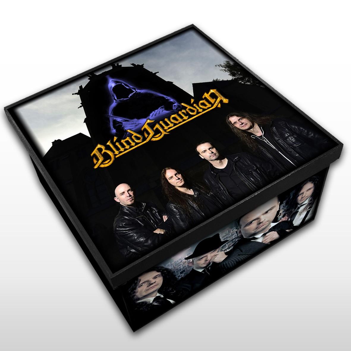 Blind Guardian - Caixa Organizadora em Madeira MDF - Tamanho Médio - Mr. Rock