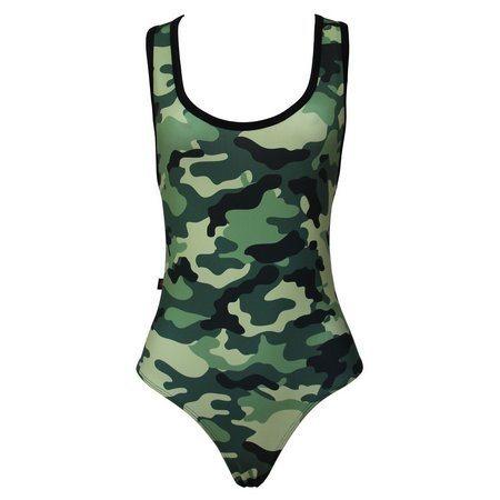 Body Camuflado Militar - Bloody Hell Wear