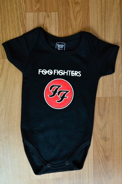 Body Infantil Foo Fighters Family Rock
