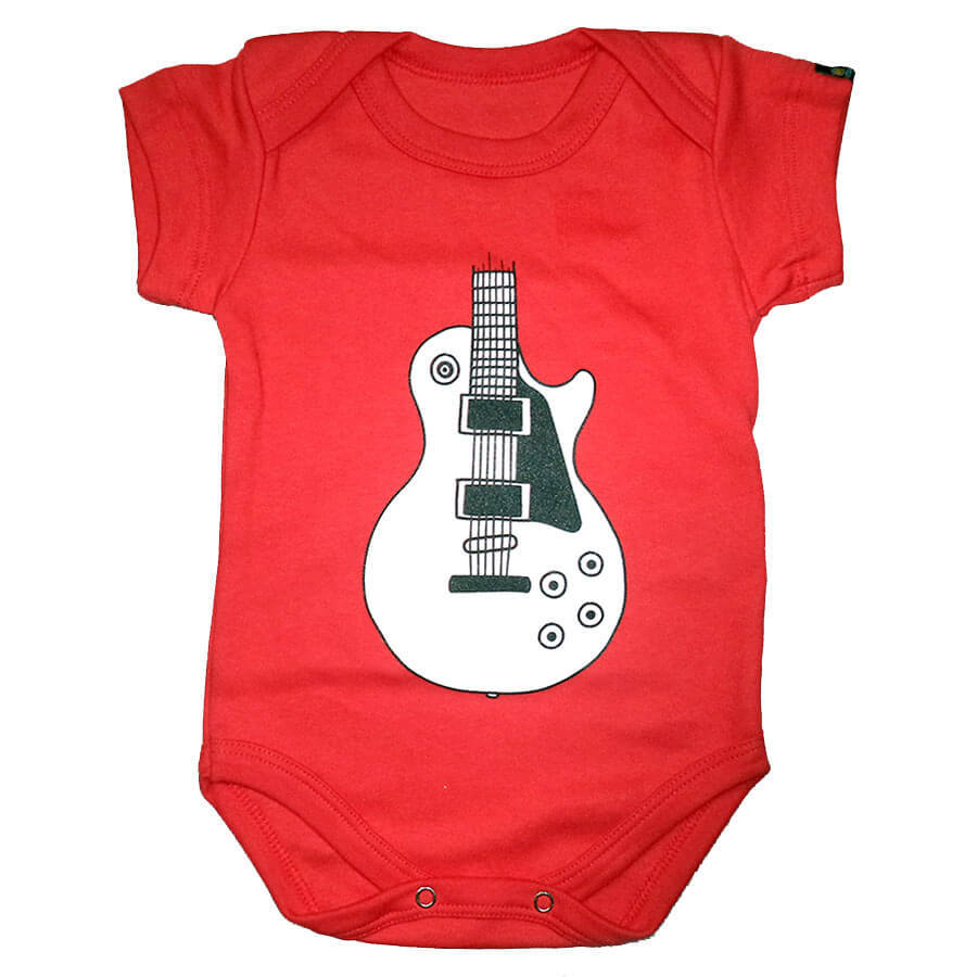 Body Infantil Guitarra