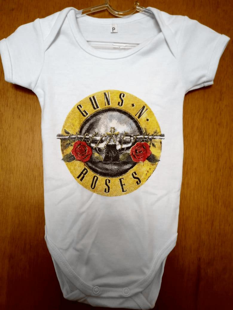 Body Infantil Guns n' Roses Family Rock