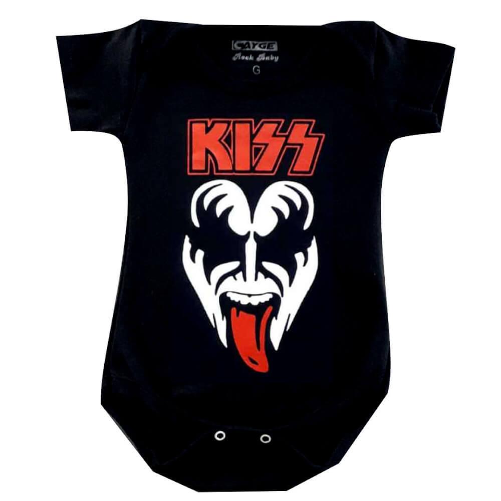 Body Infantil Kiss