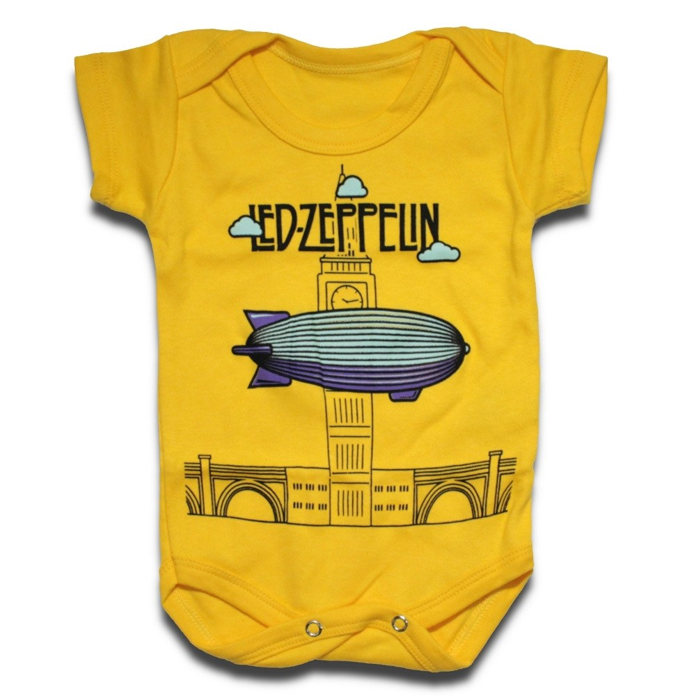 Body Infantil LED ZEPPELIN – Symbols