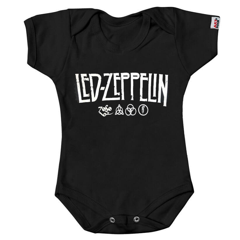 Body Infantil Led Zeppelin