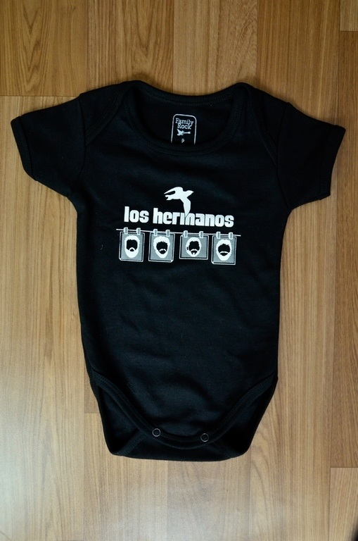 Body Infantil Los Hermanos Family Rock