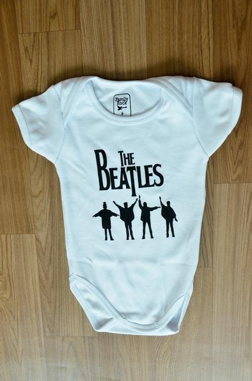 Body Infantil The Beatles Family Rock