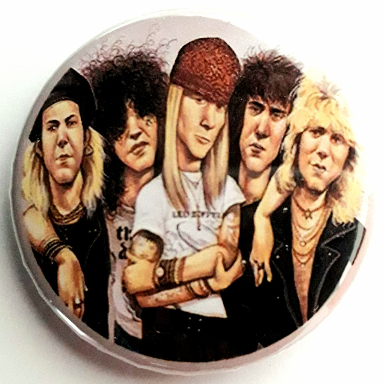 Botton  Guns n' Roses